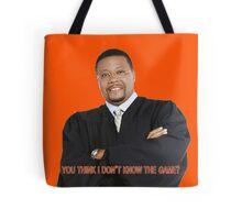 Judge My Game Tote Bag