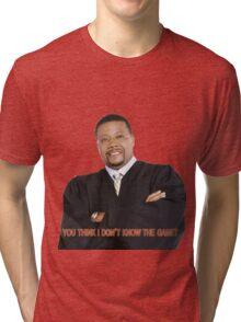 Judge My Game Tri-blend T-Shirt