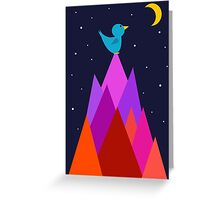 The Moon is my friend Greeting Card