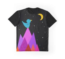 The Moon is my friend Graphic T-Shirt