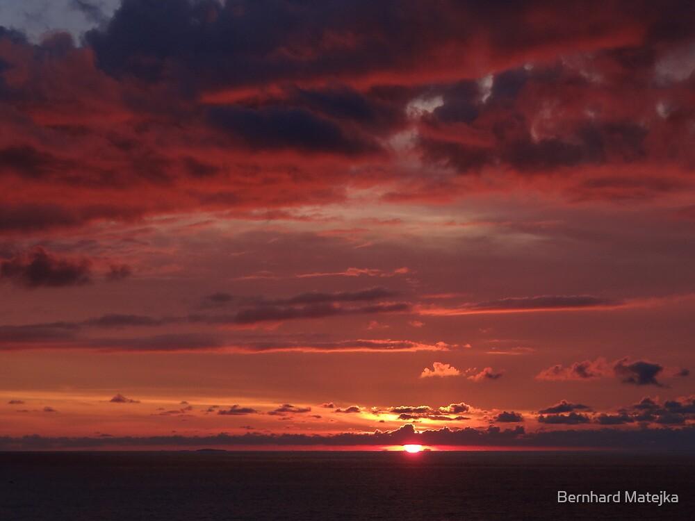Red Colored - Colorado Rojo by Bernhard Matejka