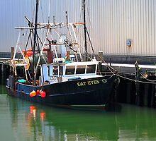 Cat Eyes Fishing vessel  by joevoz