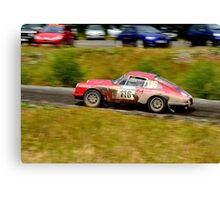 Porsche 911 Rally Canvas Print