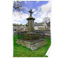 Churchyard Memorial, Ashford-in-the-Water  Poster