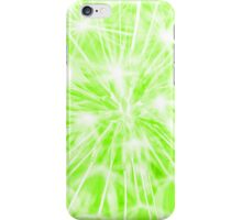 Dandelion clock - green iPhone Case/Skin