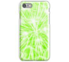 Dandelion clock - green iPhone Case/Skin