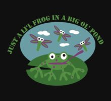 Just A Little Frog Kids Clothes