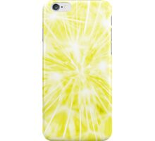 Dandelion clock - yellow iPhone Case/Skin