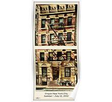 Crayon NYC °1 Poster