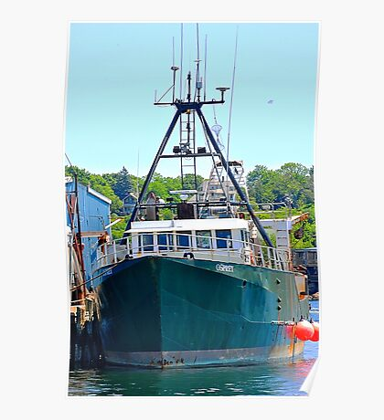 Osprey Fishing Vessel Poster