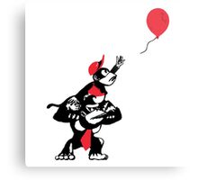 Balloon Apes Metal Print
