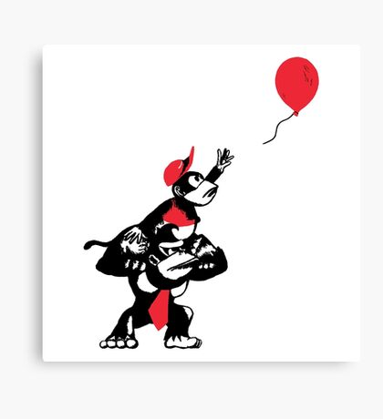 Balloon Apes Canvas Print