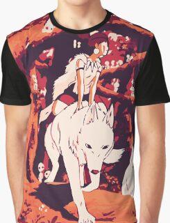 Princess Mononoke Graphic T-Shirt