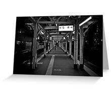 Walk this Way - Otaru , Hokkaido , Japan Greeting Card