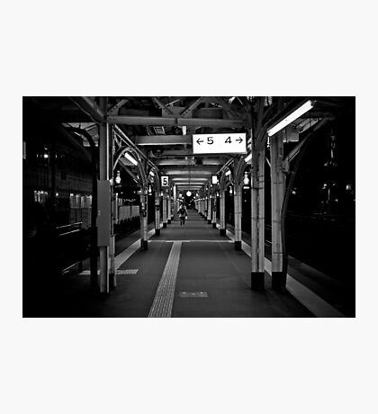Walk this Way - Otaru , Hokkaido , Japan Photographic Print