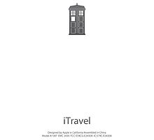 Dr Who - iTravel - White by CalumCJL