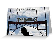 Glasgow Barras Greeting Card