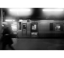 The train just arrived at Sapporo Station Photographic Print