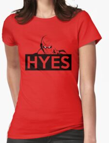 HYES Womens Fitted T-Shirt