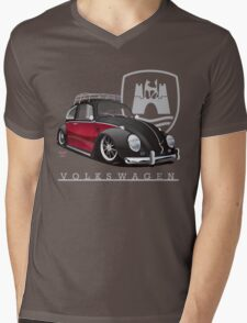 Black 'n Red Mens V-Neck T-Shirt