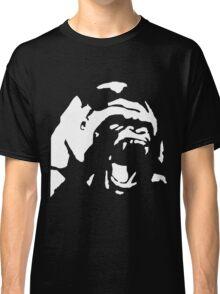 Angry Gorilla - White Classic T-Shirt
