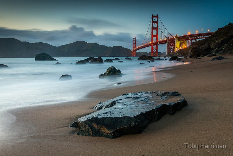 marshall beach by toby harriman redbubble