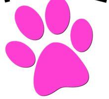 RESCUE MOM - PINK HEART Sticker