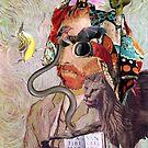 Portrait of Van Gogh 12. by Andy Nawroski