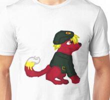 Red Furry Communist Dog Unisex T-Shirt