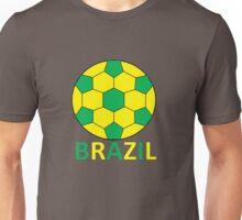 Brazil Football Unisex T-Shirt