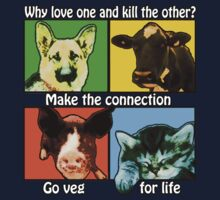 Go Veg for Life by J. Stoneking