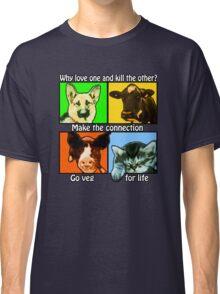 Go Veg for Life Classic T-Shirt
