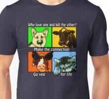 Go Veg for Life Unisex T-Shirt