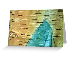 Layer Of Bark Greeting Card