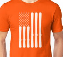 USA Ski Flag Unisex T-Shirt