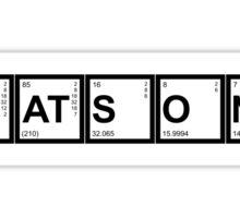 Elementary (My Dear) Watson Sticker