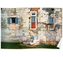 The Essence of Croatia - Windoors of Diocletian's Palace Poster