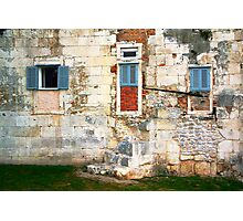 The Essence of Croatia - Windoors of Diocletian's Palace Photographic Print