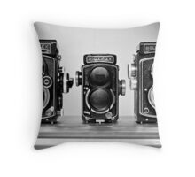 My New Rollei's Throw Pillow