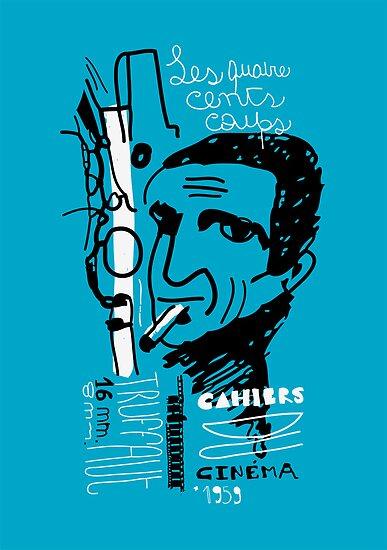 François Truffaut by ecrimaga
