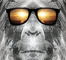 Bigfoot In Shades by Phil Perkins