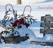 Village Christmas (holiday greeting card) by photoclique