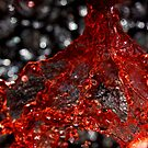 Red Liquid 3 by April Webb
