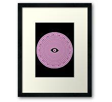 Flume circle Framed Print