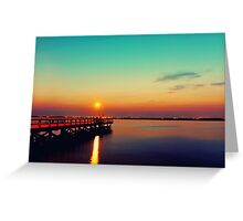 Sunglow Greeting Card