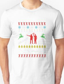 Walking Dead - Ugly Christmas sweater knitted T-Shirt