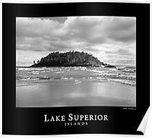 Lake Superior Islands #3 Poster