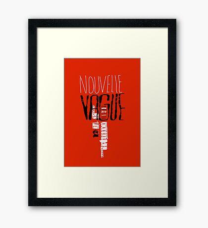 Nouvelle Vague Framed Print