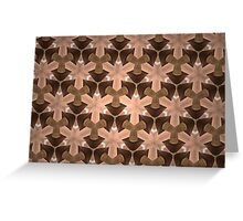 Prismatic Texture 55 Greeting Card