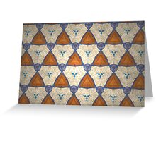 Prismatic Texture 56 Greeting Card